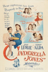 Cinderella Jones 1946 DVD - Joan Leslie / Robert Alda